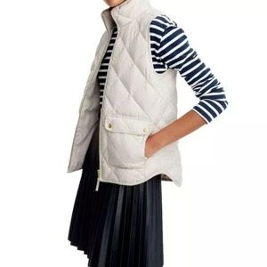 J.crew Women's Excursion Quilted Vest Size XXS for sale